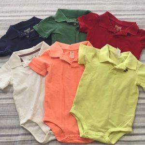 6 Boys Polo Shirts(24m)